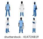 vector illustration  of a six... | Shutterstock .eps vector #414724819