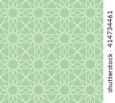 islamic pattern seamless... | Shutterstock .eps vector #414734461