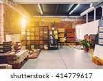 hardware store office. samples... | Shutterstock . vector #414779617