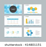 abstract cover and page design... | Shutterstock .eps vector #414801151