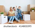 mortgage  people  housing and...   Shutterstock . vector #414803395