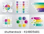vector illustration set... | Shutterstock .eps vector #414805681