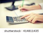 finances  economy  technology... | Shutterstock . vector #414811435