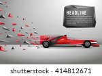 race car | Shutterstock .eps vector #414812671