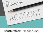 accounting finance audit budget ... | Shutterstock . vector #414814354