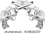 vector vintage illustration of... | Shutterstock .eps vector #414826237