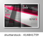 brochure template  flyer design ... | Shutterstock . vector #414841759