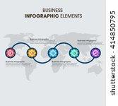 business infographics vector... | Shutterstock .eps vector #414850795