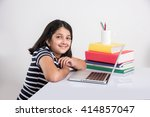 education at home concept  ... | Shutterstock . vector #414857047