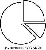 pie chart | Shutterstock .eps vector #414872101