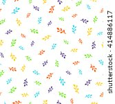 light pattern with little color ... | Shutterstock .eps vector #414886117