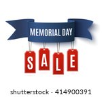 big memorial day sale ... | Shutterstock .eps vector #414900391