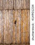 Bamboo Retro Door