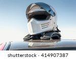 racing helmet | Shutterstock . vector #414907387