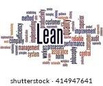lean   management approach ... | Shutterstock . vector #414947641