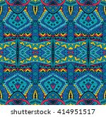 abstract festive colorful... | Shutterstock . vector #414951517
