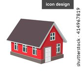 house home icon | Shutterstock .eps vector #414967819