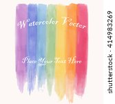 abstract watercolor hand paint... | Shutterstock .eps vector #414983269