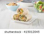 vegan quinoa wraps with...