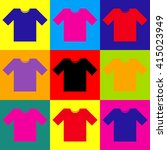 t shirt sign | Shutterstock .eps vector #415023949