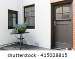 entry porch and front door of... | Shutterstock . vector #415028815