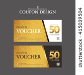 coupon illustration | Shutterstock .eps vector #415039504