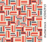 geometric colorful op art... | Shutterstock .eps vector #415042915