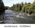 Campbell river Vancouver Island