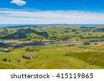 View From Te Mata Peak To The...