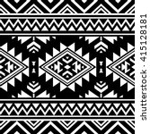 black and white color tribal... | Shutterstock .eps vector #415128181