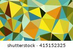 abstract geometrical background ... | Shutterstock .eps vector #415152325