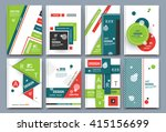 abstract composition  font... | Shutterstock .eps vector #415156699