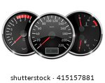 car dashboard. still position.... | Shutterstock .eps vector #415157881