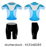 sports t shirt graphic cycling... | Shutterstock .eps vector #415168285