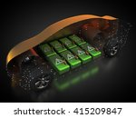 3d rendering  electric vehicle... | Shutterstock . vector #415209847