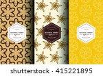 vector logo and packaging...   Shutterstock .eps vector #415221895