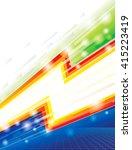 abstract  energy power eco... | Shutterstock . vector #415223419