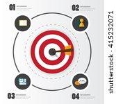 modern infographic for business ... | Shutterstock .eps vector #415232071