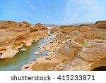 sam phan bok  grand canyon of... | Shutterstock . vector #415233871