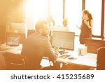 business corporation... | Shutterstock . vector #415235689