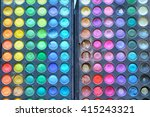 background of all eye colors... | Shutterstock . vector #415243321