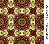 seamless abstract pattern  hand ... | Shutterstock .eps vector #415265755