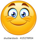 smiling emoticon | Shutterstock .eps vector #415278904