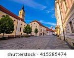 baroque town of varazdin street ... | Shutterstock . vector #415285474