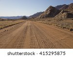 The D707  Scenic Dirt Road In...