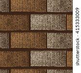 seamless grunge brick wall.... | Shutterstock . vector #415333009
