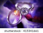 Diamond Engagement Ring On...