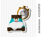 colorful  resting design ... | Shutterstock .eps vector #415353955