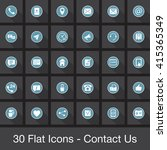 web vector icons set  ui modern ...