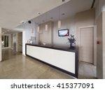 hotel entrance hall   Shutterstock . vector #415377091
